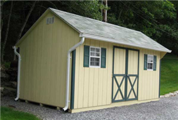 Barn and wood shed building kits in virginia and west for Barn kits prices