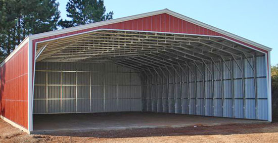 Large outdoor storage sheds wood metal buildings for Aluminum sheds for sale