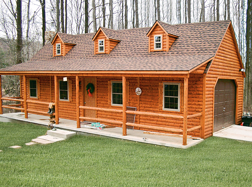 Modular Log Cabins Like This Can Be Very Cost Effective