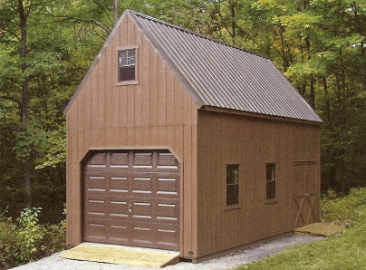 Prefab Garages With Overhead Storage