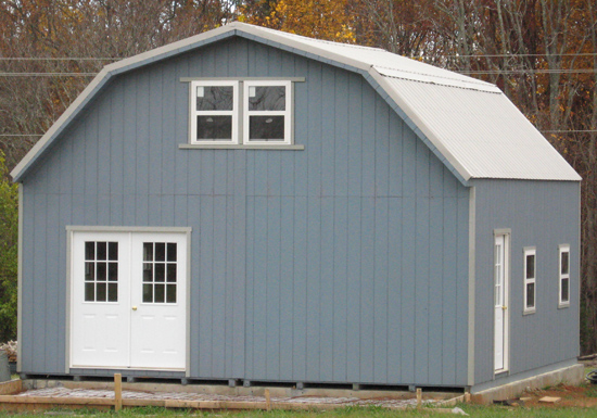 Large Outdoor Storage Sheds Wood Metal Buildings
