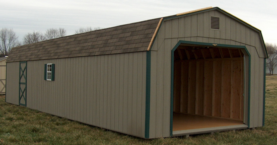 Portable Wooden Garages : Large outdoor storage sheds wood metal buildings