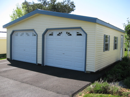 2 car garage size and dimensions for Width of two car garage