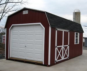 Alan 39 s factory outlet blog of storage sheds garages and for Prefabricated detached garage