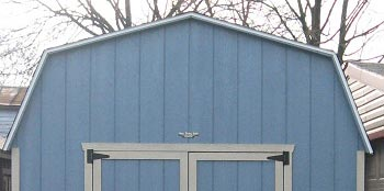 Gable roof shed vs gambrel roof shed for Gambrel gable