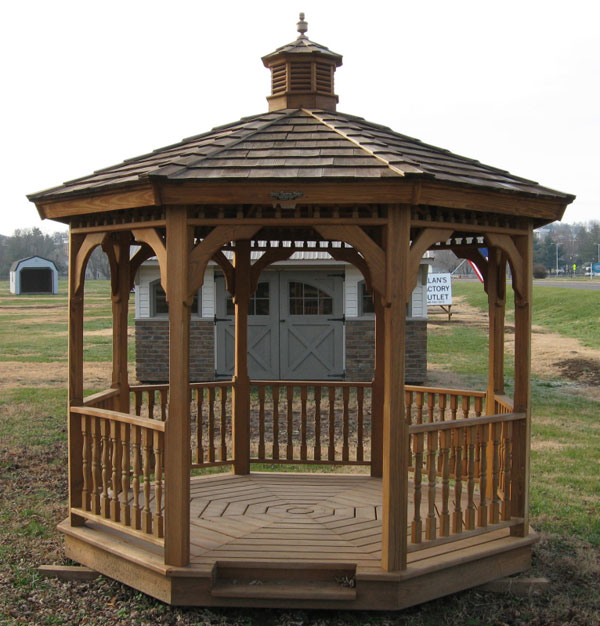 How to build a wood gazebo for Gazebo cost to build