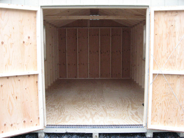 Prefab wooden storage buildings for Building a prefab shed