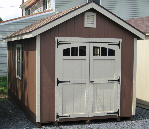 Deluxe Door Designs By Amersham S Iq Furniture: Wood Sheds With Deluxe Trim Package