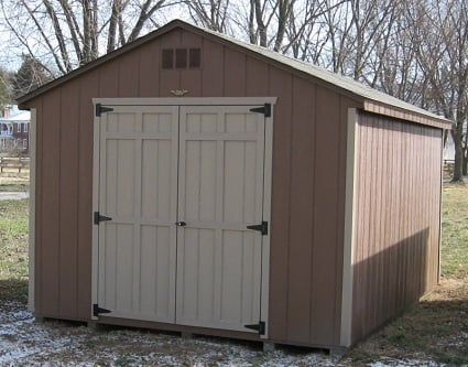 Cheap wooden storage sheds for sale woodproject for Small outdoor sheds for sale