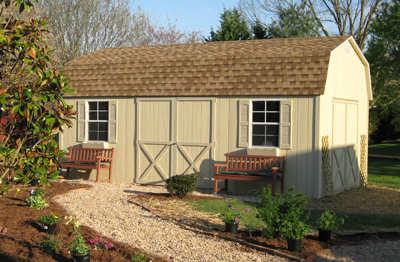 backyard wood storage buildings