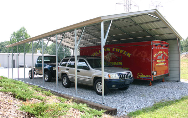 Canopies And Carports : Carport canopy metal carports with steel framing