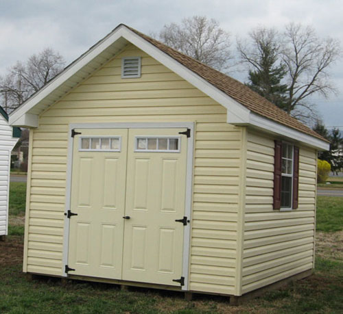 15 tips for organizing and maintaining a food storage shed for Vinyl storage sheds