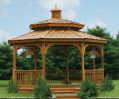 Gazebo kits, Gazebo, Gazebos, Amish Gazebo Kit