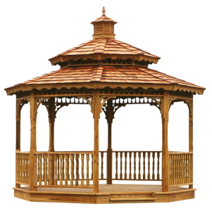 Gazebo, Gazebos, Backyard Gazebo, Wooden Amish Gazebo