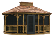 Gazebo, Gazebos, Outdoor Gazebo, Amish Gazebo, Gazebo Kits