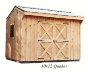 10x12 Board Batten Quaker Storage Sheds