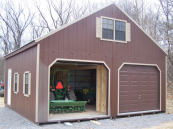 2 story garages prefabricated