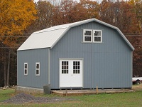 Amish built sheds for sale at great prices find pre for Two story garages for sale