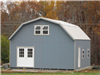 2 Story Storage Barn, Gambrel Roof Two Story Buildings, Alan's Factory Outlet Luray Virginia