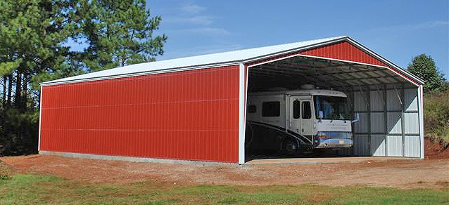 40' wide carports ks metal garages kansas