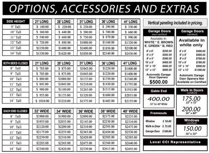 Alan S Factory Outlet Has Metal Buildings Prices Are Low