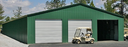 40 wide steel buildings