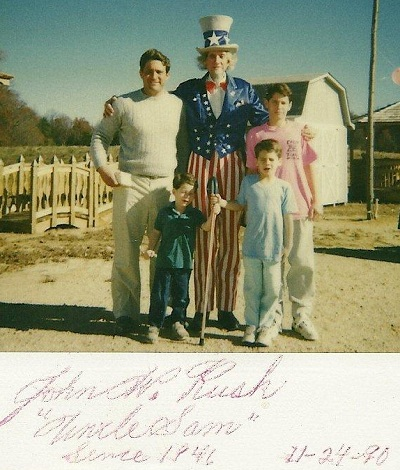 Alan Sr Alan Jr Dan Joe Uncle Sam
