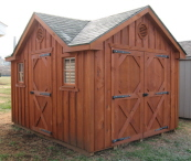 Amish Cedar Storage Sheds