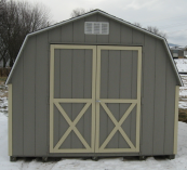 4' wall mini barn wood siding