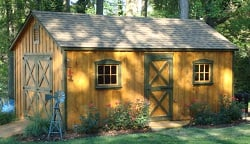 Board and Batten Storage Sheds