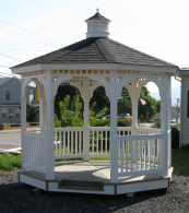 Vinyl Gazebo Kits, Gazebo Kit, Gazebos Kits, Vinyl Garden Gazebo Kit