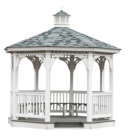 Gazebo Kits Vinyl Gazebos Kit