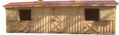 modular horse barns, shed row horse barn, run in sheds