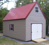 12x24 vinyl 2 story shed
