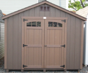 t1-11 gable storage shed