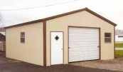 vertical roof metal garages