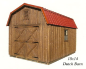 board batten dutch barns