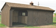 High-Quality, Amish-Built Horse Barns for Sale | Modular ...
