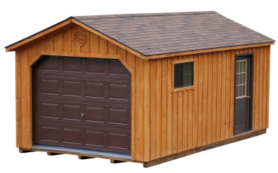 board batten garages 12x24