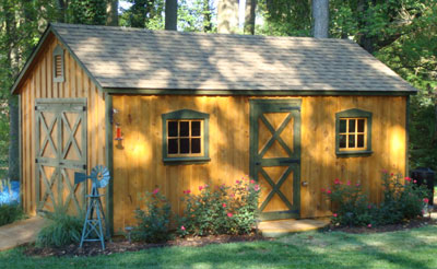 board batten storage sheds