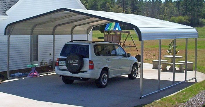 Do It Yourself Car Shelter : Carports florida metal from alan s