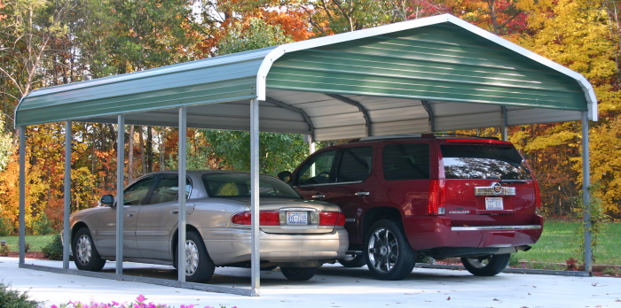 Garage Canopy Chicago : Metal carports illinois steel carport il