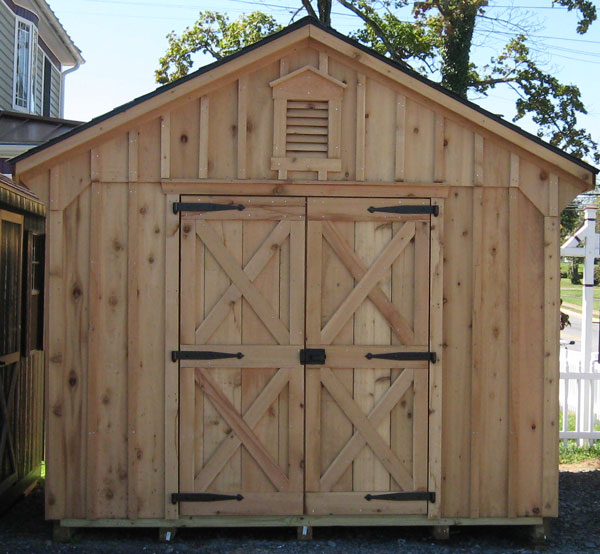 cedar sheds at alans factory outlet in virginia