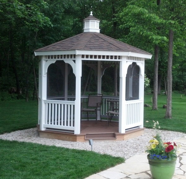 diy vinyl gazebo kit