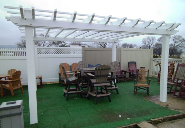 diy vinyl pergola kits alans factory outlet