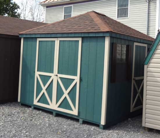 Garden Sheds Northern Virginia hip roof sheds - sheds in northern virginia and shenandoah valley va