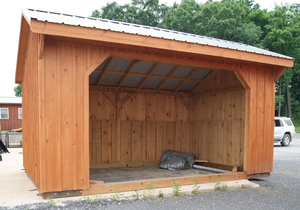 horse run in shed for sale in va