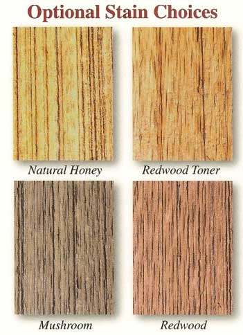 horse run in shed stain color options