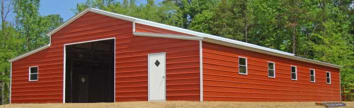 lean to buildings ga lean to barns georgia - Garden Sheds Georgia