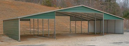 lean to metal carport